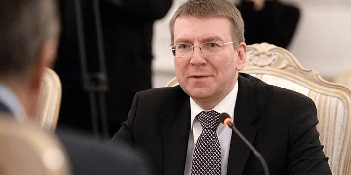 Глава латвийского МИД Эдгар Ринкевич