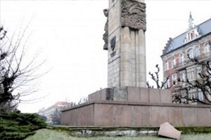 Памятник благодарности Красной армии