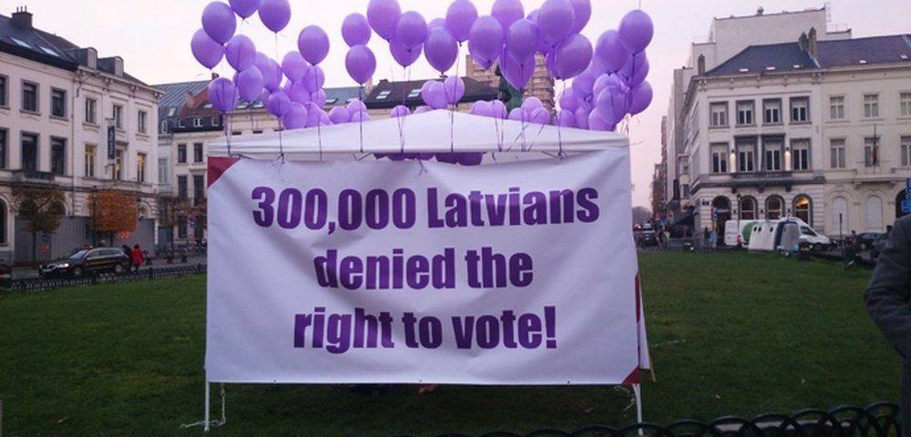 Неграждане в Латвии