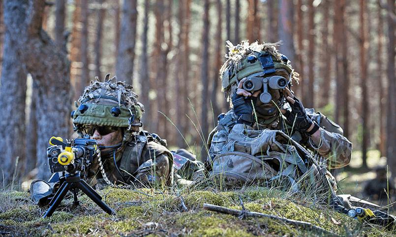 Военнослужащие НАТО в Эстонии