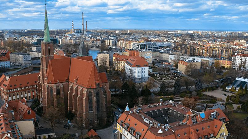 Город Вроцлав
