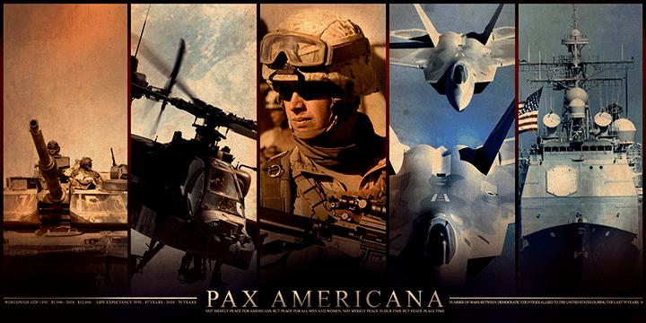 Melas — Pax Americana pagrindas