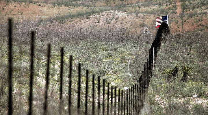 Meksikos ir JAV siena