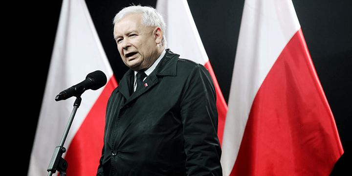 Глава партии «Право и Справедливость» Ярослав Качинский