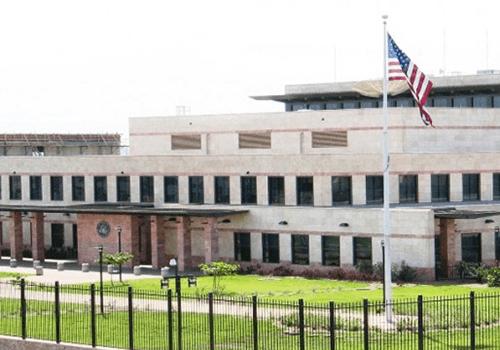 Посольство США в Латвии