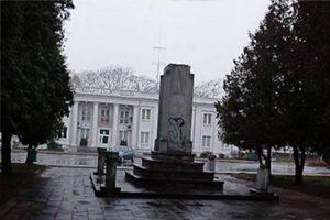 Памятник благодарности Красной армии, Мелец