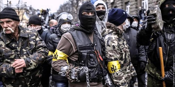 Радикалы на Майдане