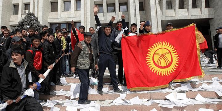 Кыргызстан: «тюльпановая революция» (2005 г.)