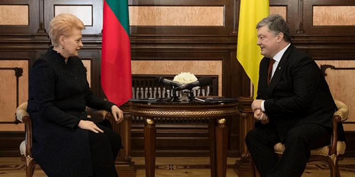 Президент Литвы Даля Грибаускайте заявила в Киеве, что для Украины коррупция страшнее войны