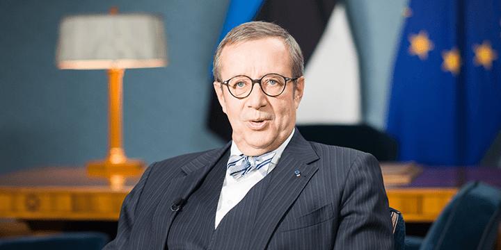Президент Эстонии Т.-Х.Ильвес