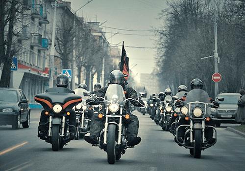 Латвийские байкеры