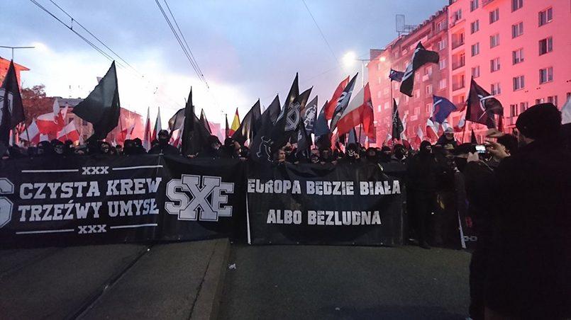 Варшава, 11 ноября: «Европа будет белой — или безлюдной» / Фото: imhoclub.by