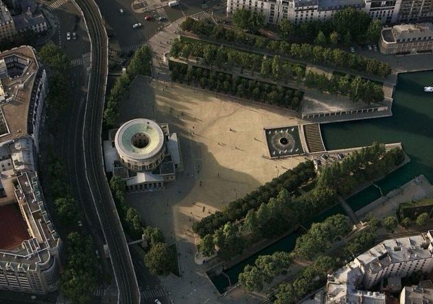 Площадь Сталинградской битвы, Париж