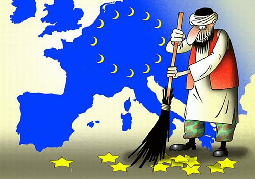 Карикатура Еврабия