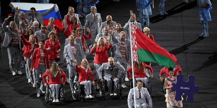 Белорусские паралимпийцы