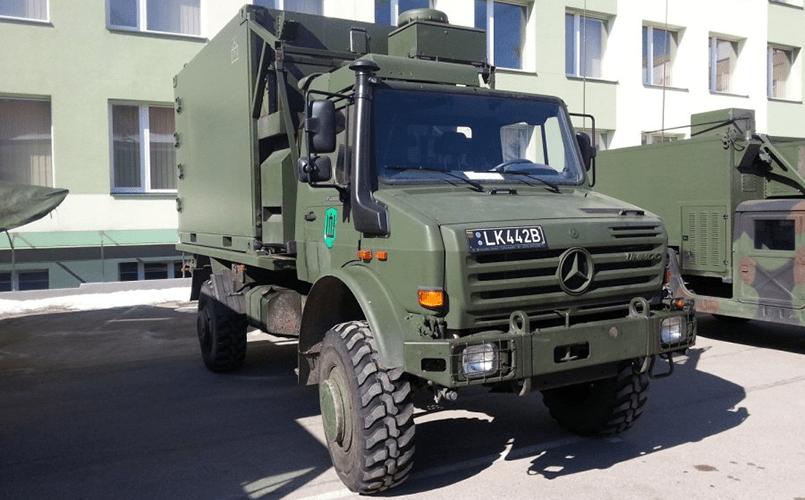 Военные грузовики Unimog U 5000