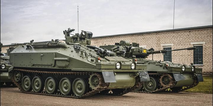 Гусеничные бронетранспортёры CVRT
