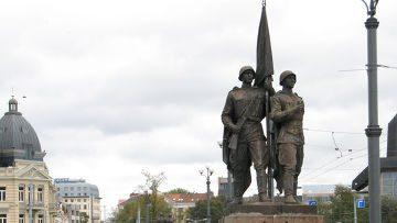 Памятник Освободителям на Зеленом мосту