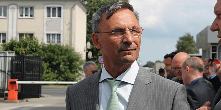 Президент ОАО «Балткран» Олег Ермолаев