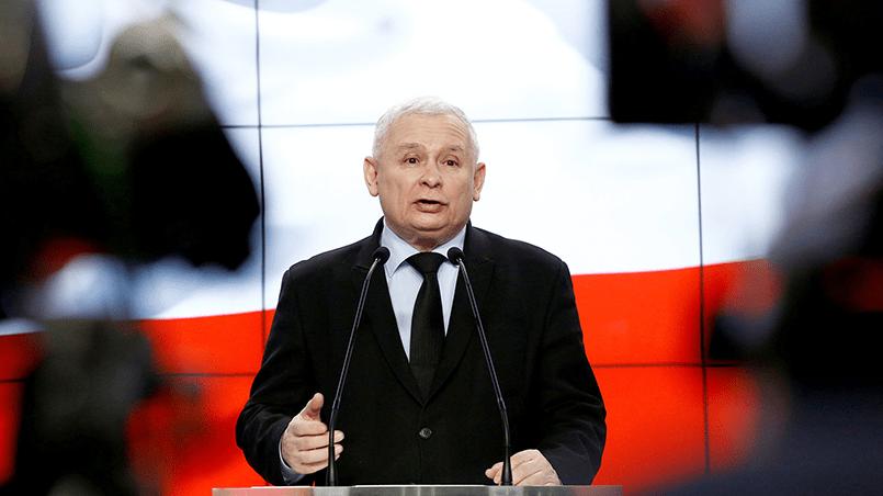 Глава правящей в Польше партии «Право и справедливость» Ярослав Качиньский