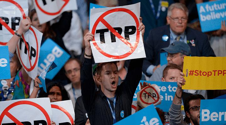 Kongresas taip ir nesuspėjo ratifikuoti TTP, ir todėl naujai išrinktam prezidentui neprireikė buvusios administracijos įsakų panaikinimo teisės