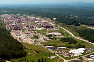 The Y-12 National Security Complex in Oak Ridge, Tenn