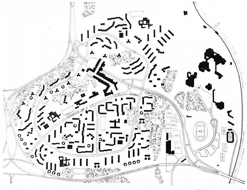 Схема генерального плана района
