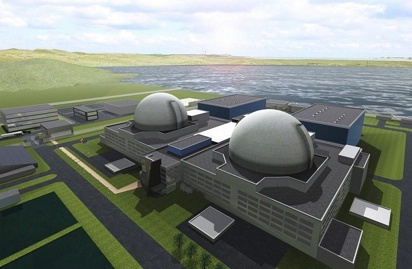 Проект Висагинской АЭС / Фото: atomic-energy.ru