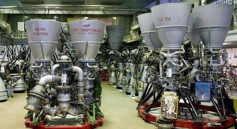 Ракетные двигатели РД-180 / Фото: ixbt.com