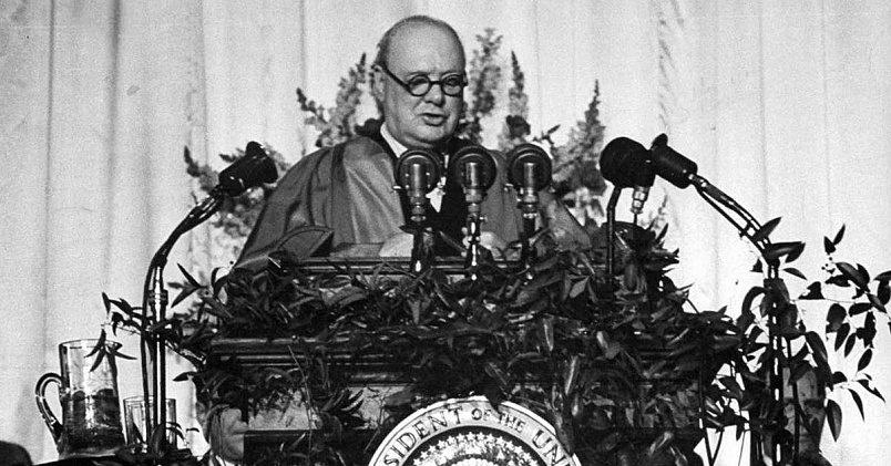 Фултонская речь Черчилля / Фото: svyazepoh.ru