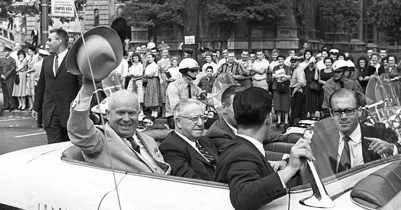Н. С. Хрущёв в США / Фото: ridus.ru
