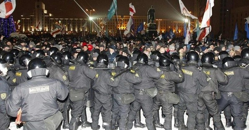 После выборов 2010 года несколько десятков человек были осуждены по уголовным статьям / Фото: rfi.fr