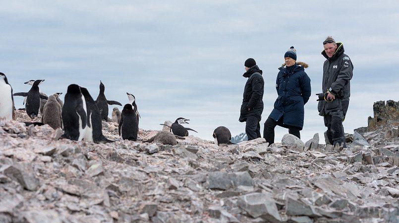 Президент Эстонии Керсти Кальюлайд в Антарктиде /фото: facebook