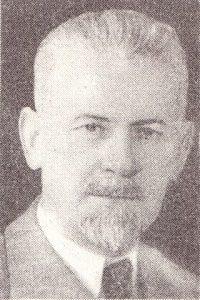 Людас Адомаускас, председатель Верховного совета Литовской ССР, жертва нацистских оккупантов