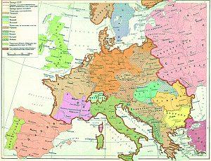 Европа накануне 22 июня 1941 года