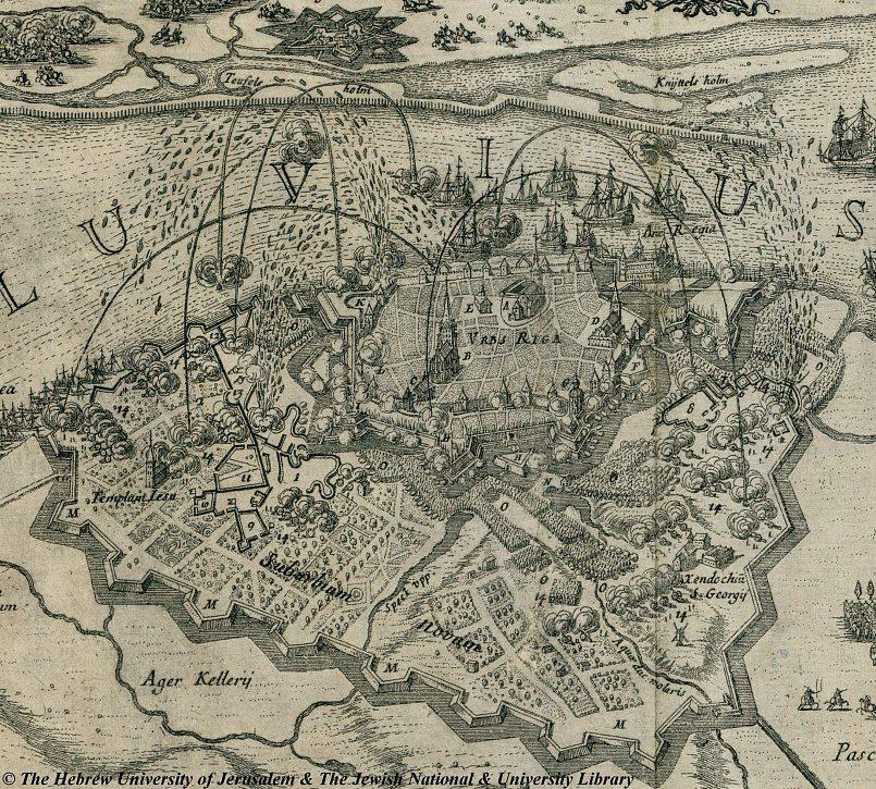 Осада Риги войсками царя Алексея Михайловича в 1656 году