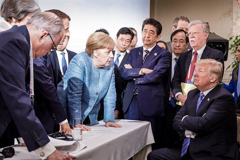 Саммит G7, 2018 г. / Фото: Jesco Denzel/Федеральное правительство Германии