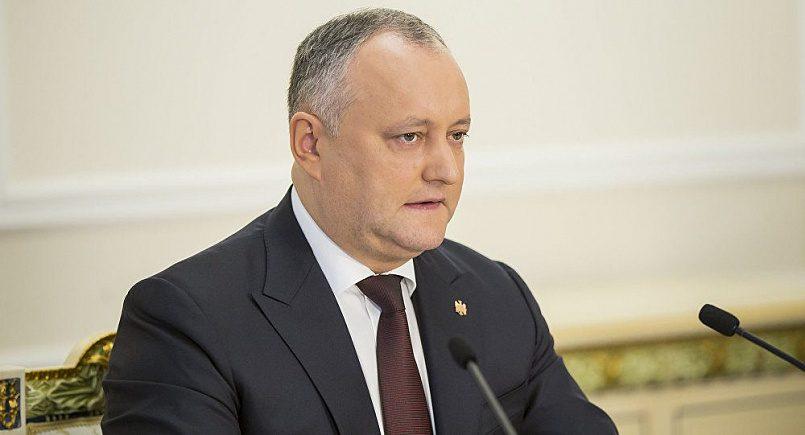 Игорь Додон / фото: sputnik.md