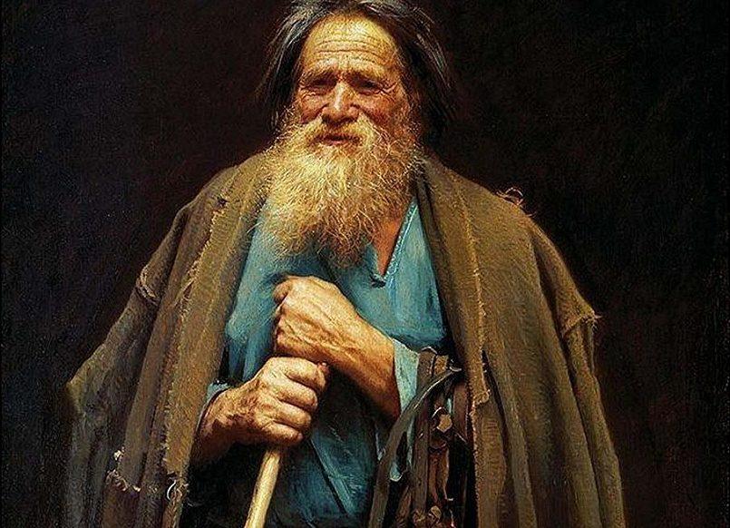 Иван Крамской «Крестьянин с уздечкой. Мина Моисеев»