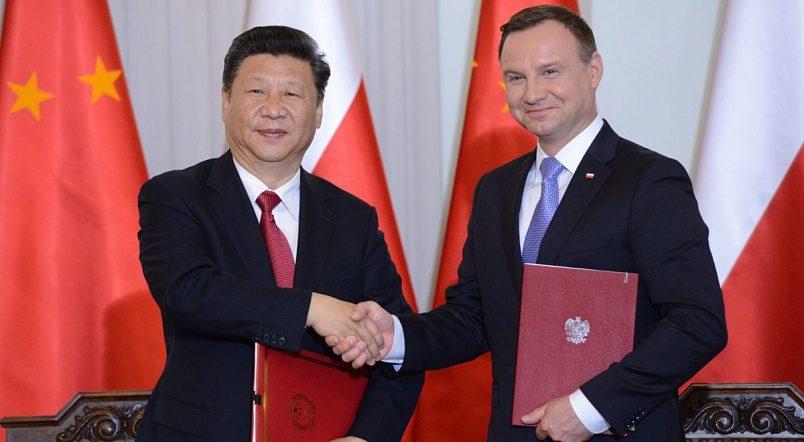 Президенты Польши и Китая Анджей Дуда и Си Цзиньпин / Фото: static.prsa.pl