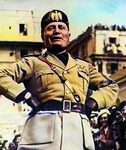 Латышские фашисты конца 1920-х годов стремились равняться на дуче Муссолини