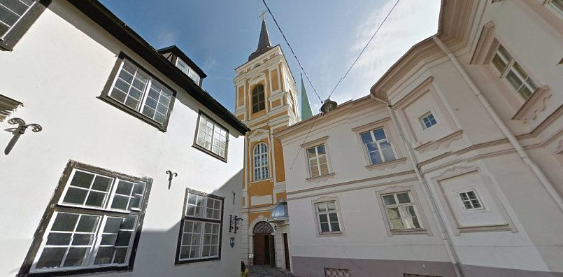 Алексеевская церковь, основанная в Риге Петром I в честь победы над шведами, была превращена в католический храм