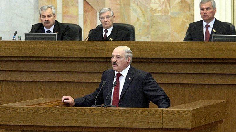 Президент Беларуси Александр Лукашенко / фото: AFP PHOTO / BELTA / POOL / MAXIM GUCHEK