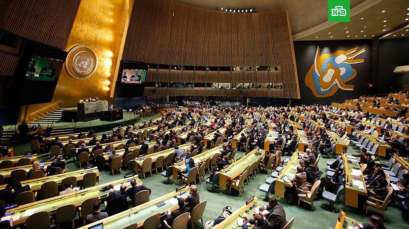 Генассамблея ООН / Фото: НТВ