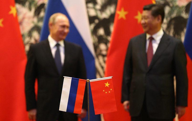 Президент России Владимир Путин и председатель КНР Си Цзиньпин / Фото: Bigmir.net