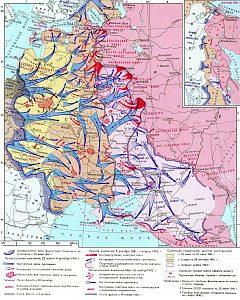Положение на восточном фронте к ноябрю 1942 года