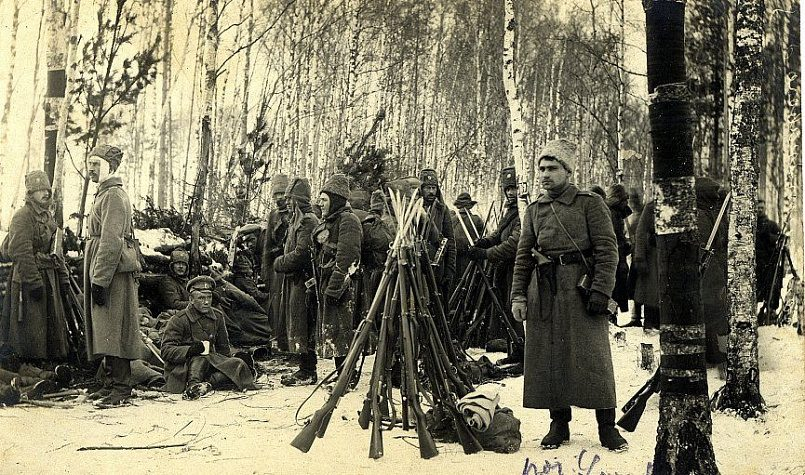 4-й Видземский полк перед Рождественскими боями