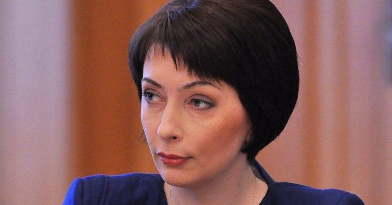 Экс-министр юстиции Украины Елена Лукаш, 44 года / Фото: luga1news.ru