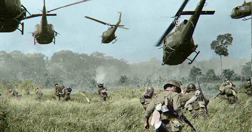 Война во Вьетнаме / Фото: wykop.pl