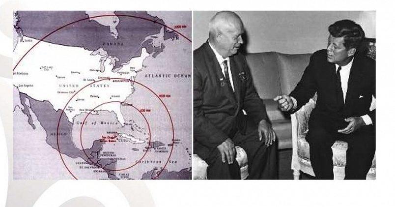 Карибский кризис / Фото: cf2.ppt-online.org